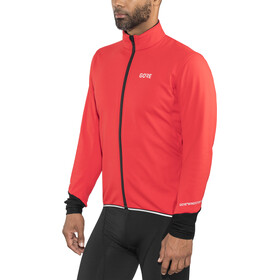 GORE WEAR C5 Windstopper Thermo Jacket Herr red/black